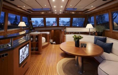 Refit jacht